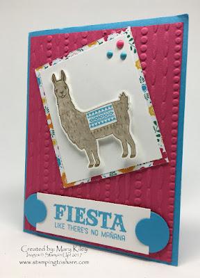 Birthday Fiesta Stamping toShare