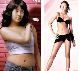 Bí quyết giảm cân - Yoon Eun Hye