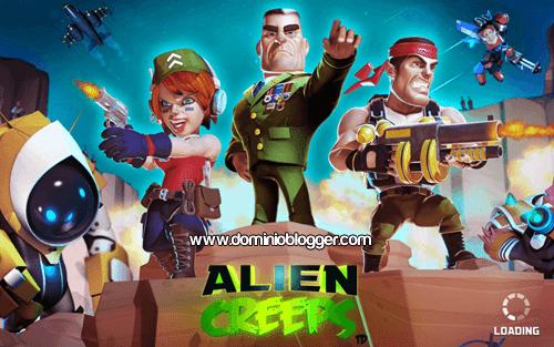 juego Alien Creeps TD para Android