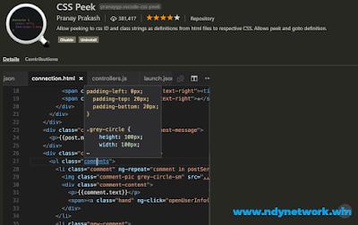 CSS Peek