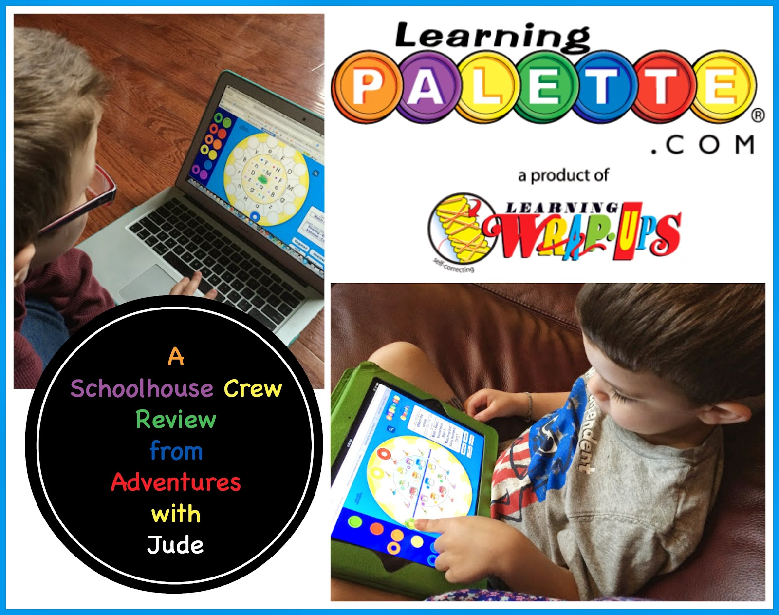 Learning Palette Online Program Review from Adventures with Jude