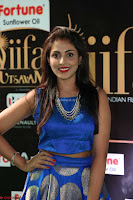 Madhu Shalini Looks Super Cute Slim trim Blue Choli Ghagra IIFA Utsavam Awards 031.JPG