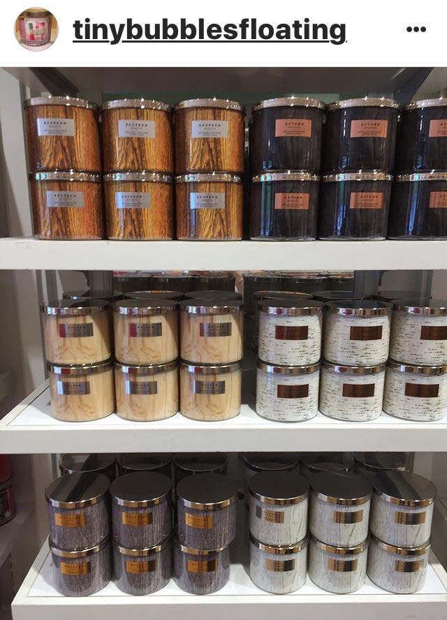 Life Inside The Page Bath Body Works Fall Test Candles Names