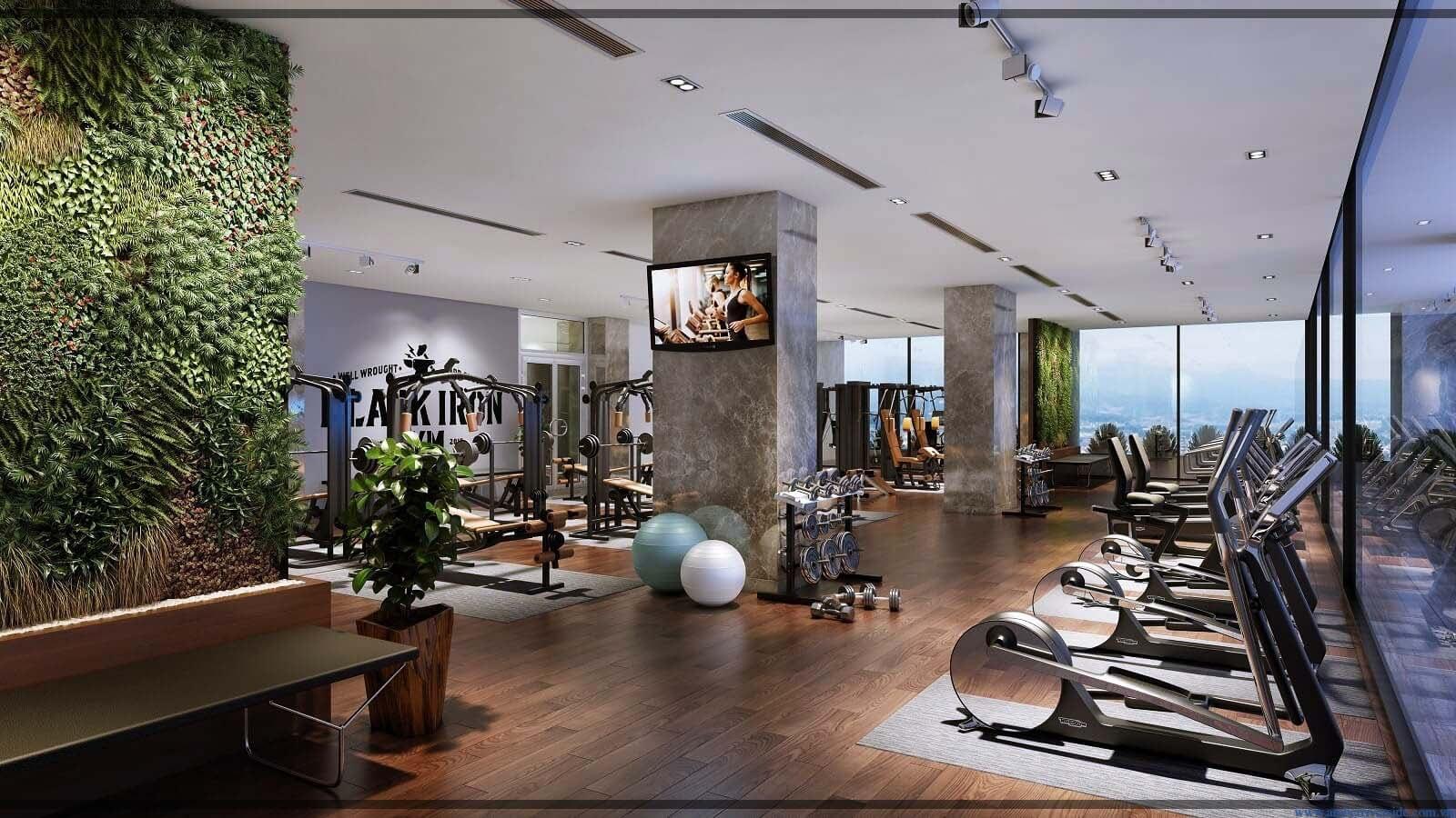 Phòng tập Gym cao cấp tại Amber Minh Khai