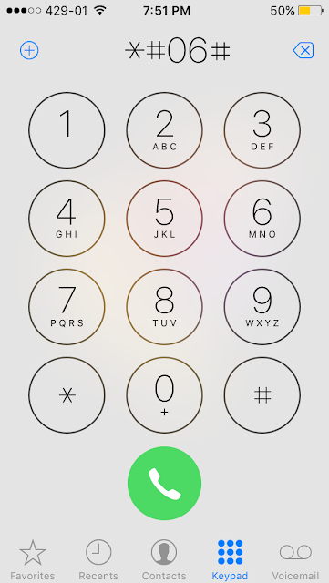 We can use IMEI number to unlock from third party unlock service or to block a mobile phone from being used by another person if it has been lost or stolen