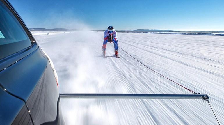 jaguar-skier