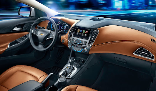 Chevrolet Cruze 2015: Fotos del interior