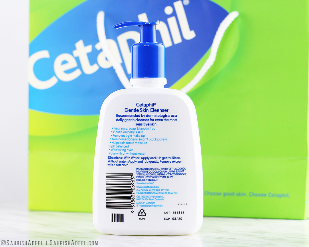 Do soap-free / foam-free cleansers really work? Featuring Gentle Skin Cleanser by Cetaphil - Review