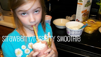 Healthy Kid-friendly Strawberry Smoothie Recipe