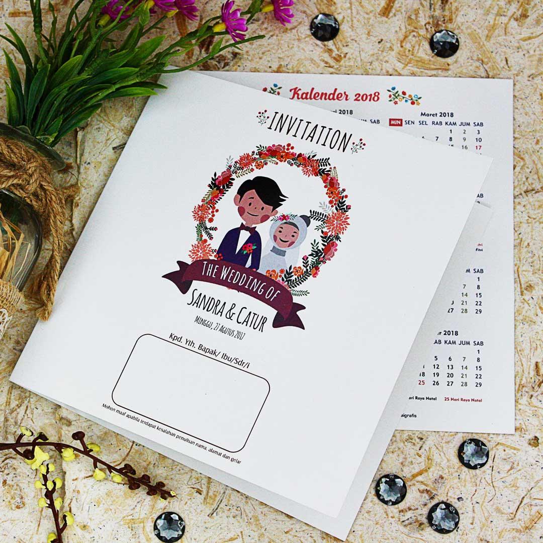 Contoh Undangan Pernikahan Undangan Pernikahan Unik 2019