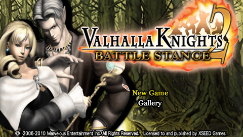Valhalla Knights 2 ISO PPSSPP