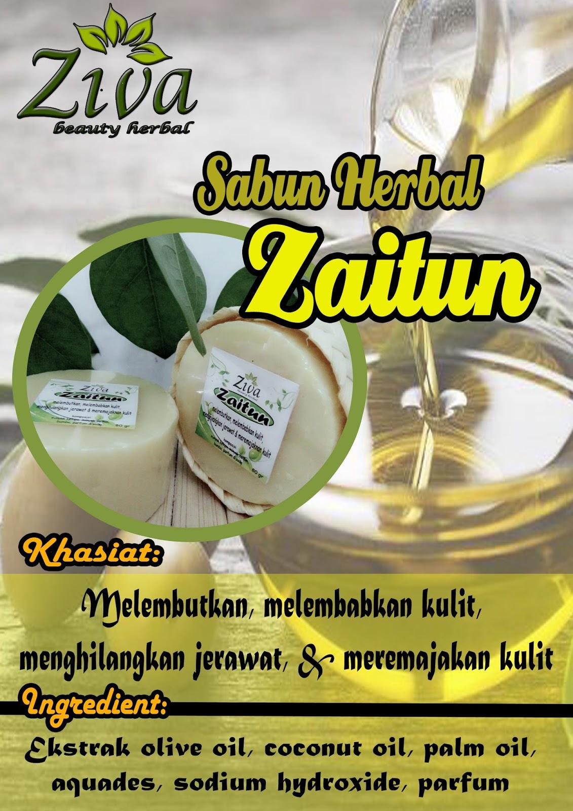 Sabun Ziva Herbal Zaitun Hotel Beauty