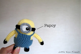 free despicable me crochet patterns