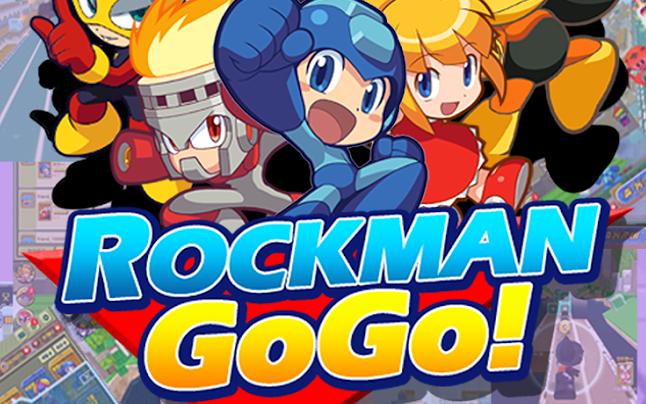 Rockman Corner: Download Rockman Go Go! Right Here