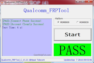 Qualcomm FRP Tool v1 01 Reset/Remove & Unlock Download Free