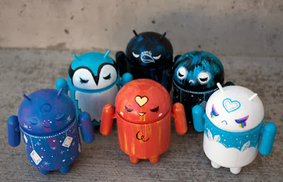 Dragatomi Exclusive Kat Brunnegraff Custom Android Blind Box Series