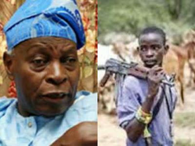 Olu Falae and herdsmen