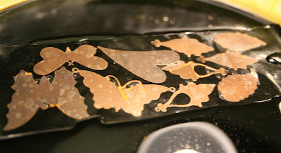 Etching adventures in brass: Step #1 - acid bath :: All Pretty Things