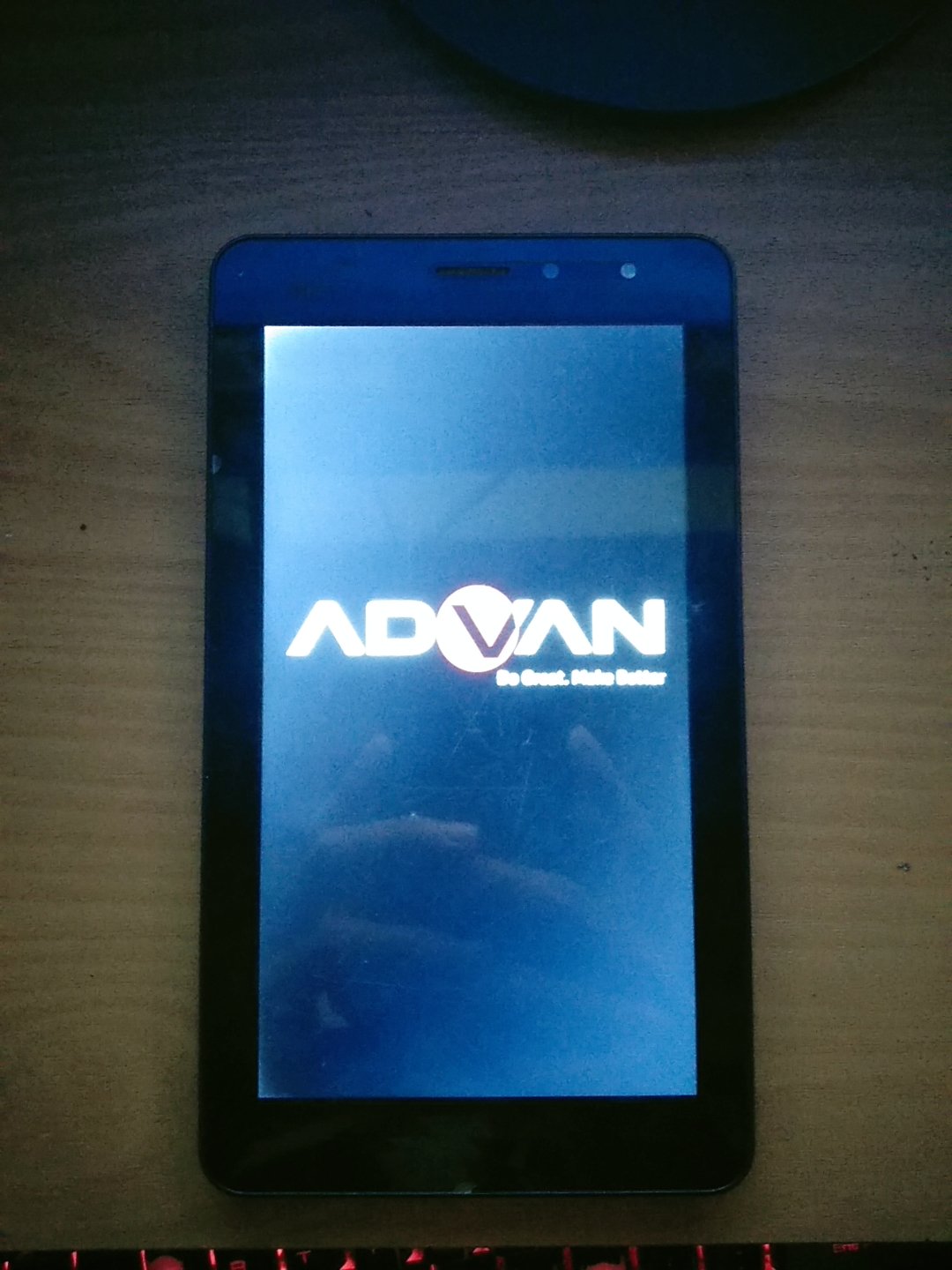 Mengatasi Tabled Advan E1C 3G Bootlop