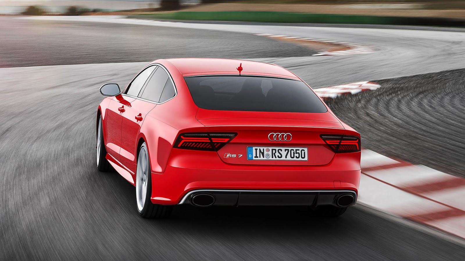 Audi RS7 Performance - tăng tốc từ 0 - 100 km/h trong 3.7secs