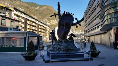 Reloj de Dalí Andorra