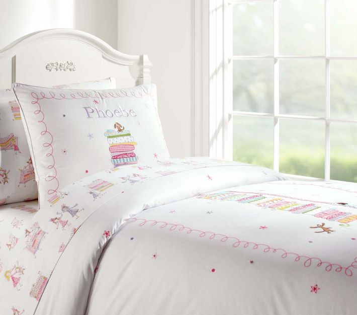 Pottery Barn Kids Princess And The Pea Bedding