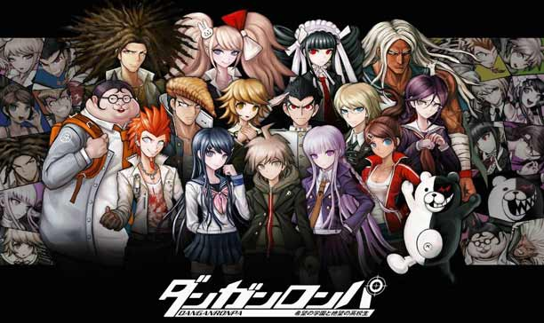 Anime Mystery Terbaik - Danganronpa: The Animation