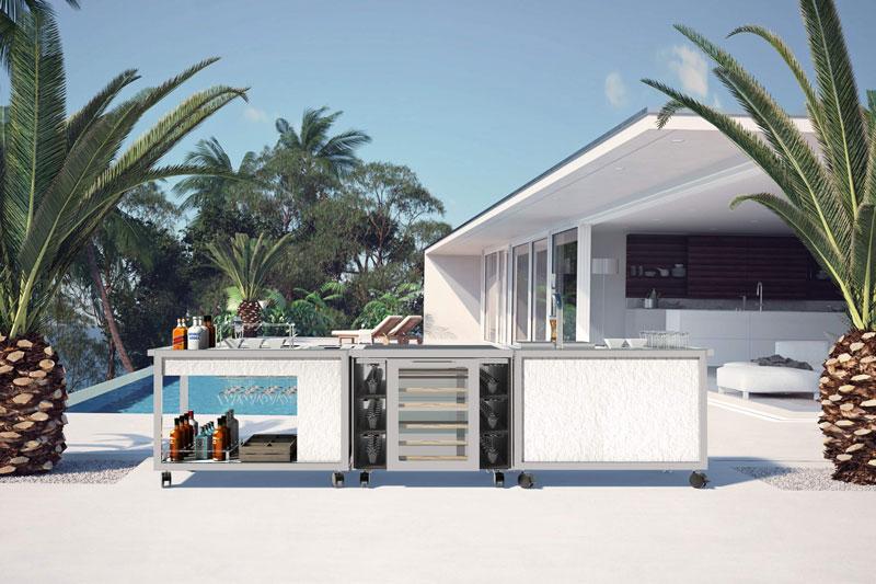 carrelli cucina Kitchen&Party Carts di La Tavola