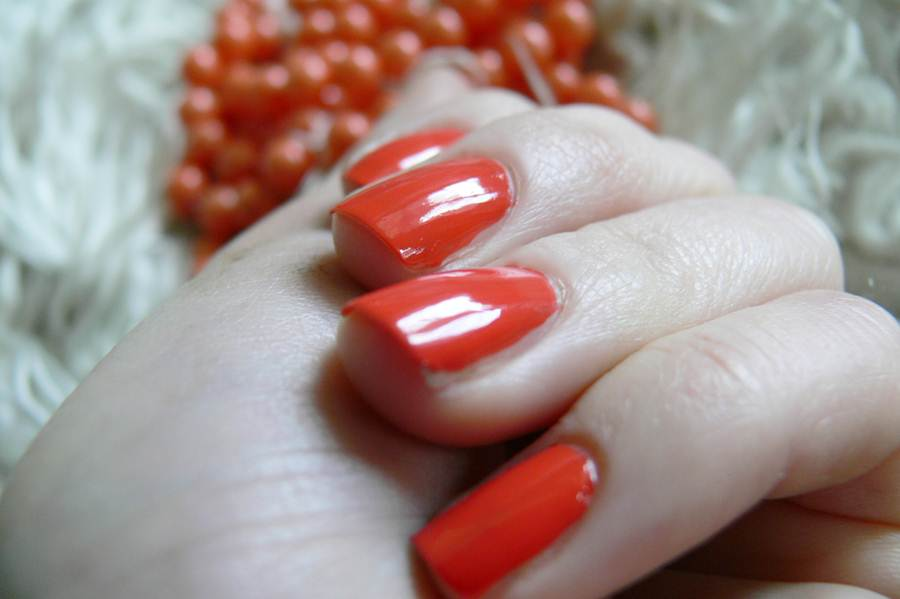 Avon Gel Finish Orange Crush pomarańczowy