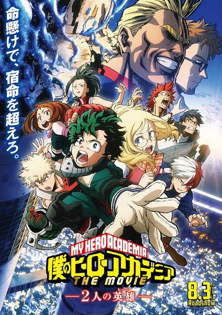 تجاوز مبيعات تذاكر فيلم Boku no Hero Academia المليون ومؤلف العمل يحتفل برسمة خاصة  انمي 4يو
