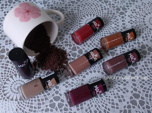 Maoa Cosméticos - Coleção Caffè Club