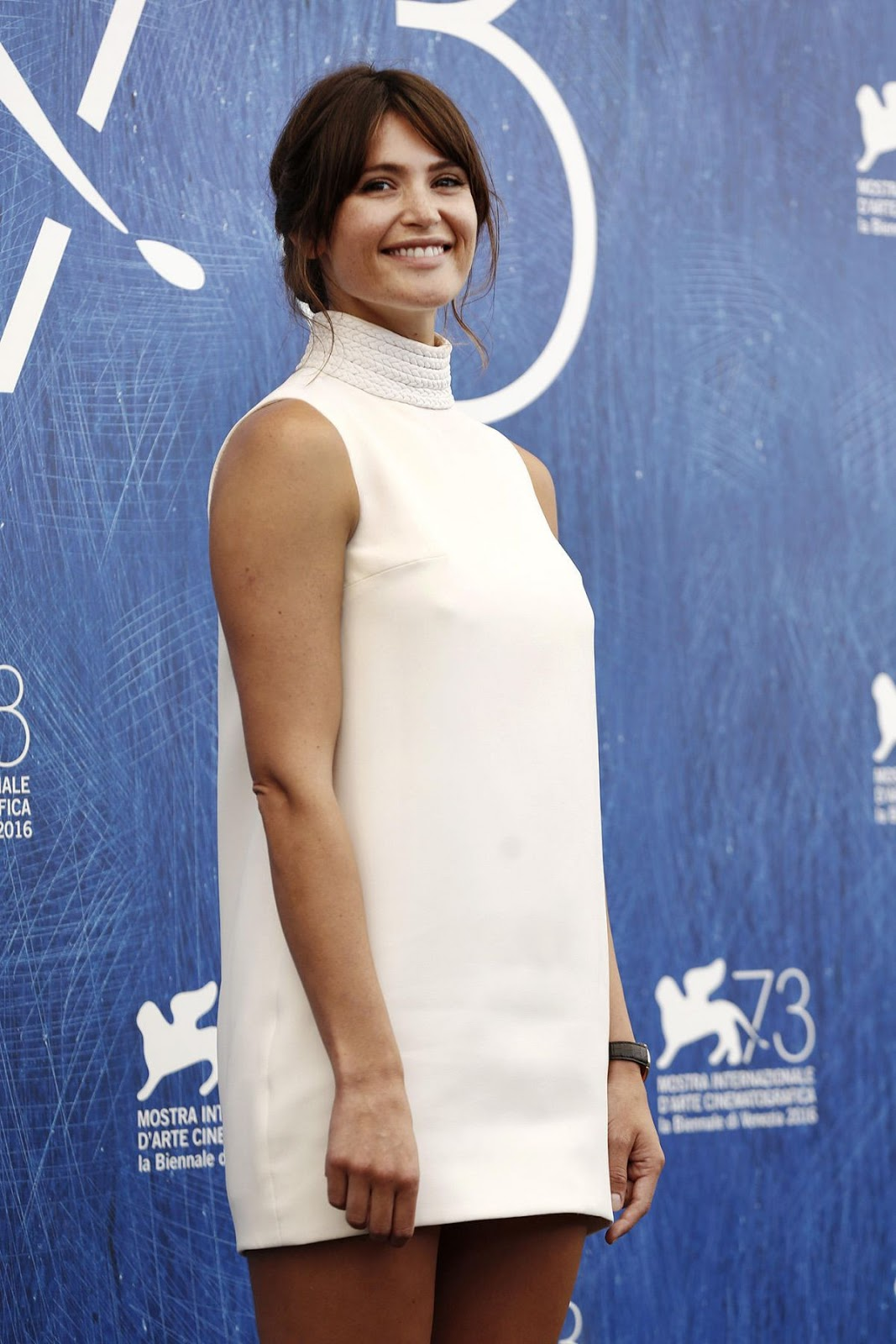 Gemma Arterton At 73rd Venice Film Festival Photocall In Venice