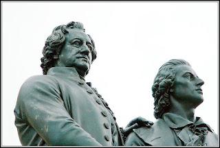 Goethe, Schiller und die Digitalisierung.