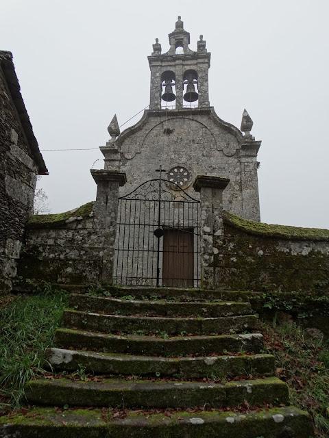 Iglesia de Santa Mariña da Cidá en O Irixo