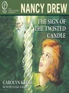 The Sign of the Twisted Candle, book image Nancy Drew, narratorreviews.org