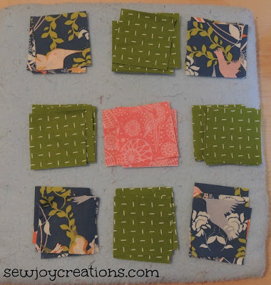 mini design board great for laying out block pieces