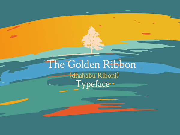 Download Golden Ribbon Typeface Free