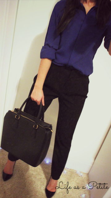 Black Cigarette Trousers Business or Work Outfit Ideas lifeasapetite