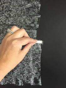 seasoning a chalkboard