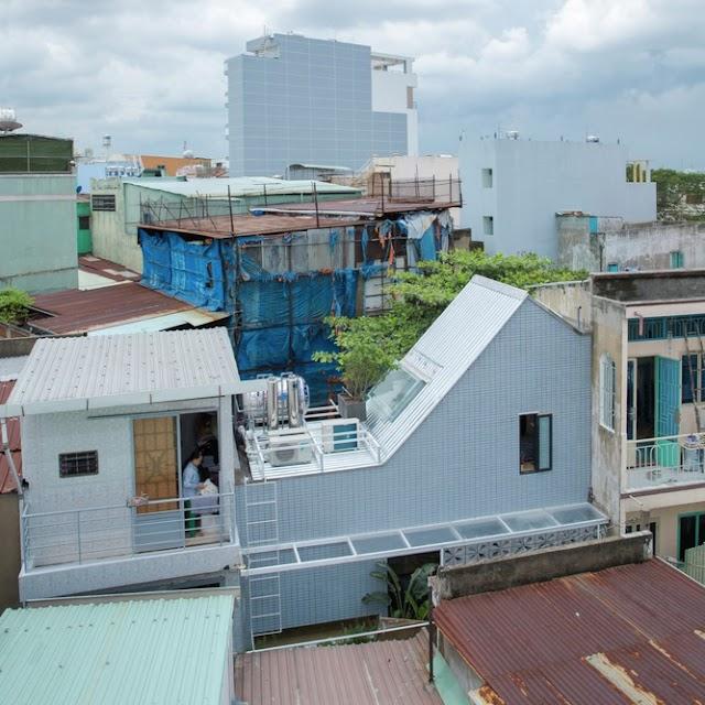 Mẫu nhà phố rộng 2,5 mét với đầy đủ tiện nghi