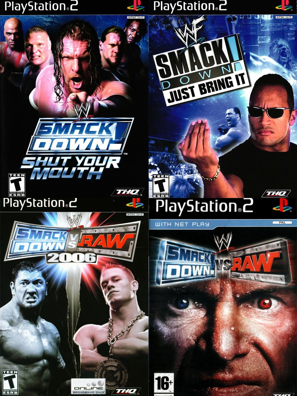 DAR Games: Ranking The WWE PS2 Games - DefineARevolution com