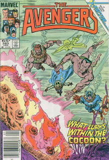 cover of Avengers v1 #263 (1986). Property of Marvel Comics.