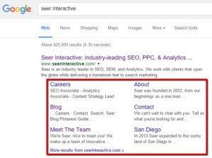 4 Cara mudah untuk Mendapatkan Sitelinks dari Mbah Google