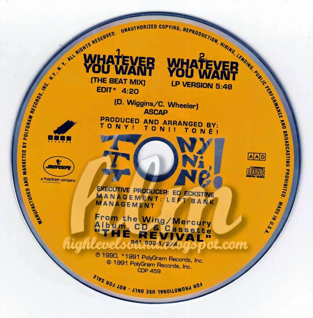 tony toni tone whatever you want instrumental