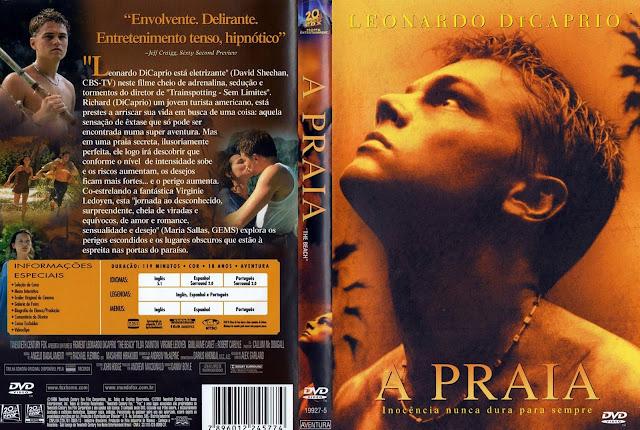 Capa DVD A Praia