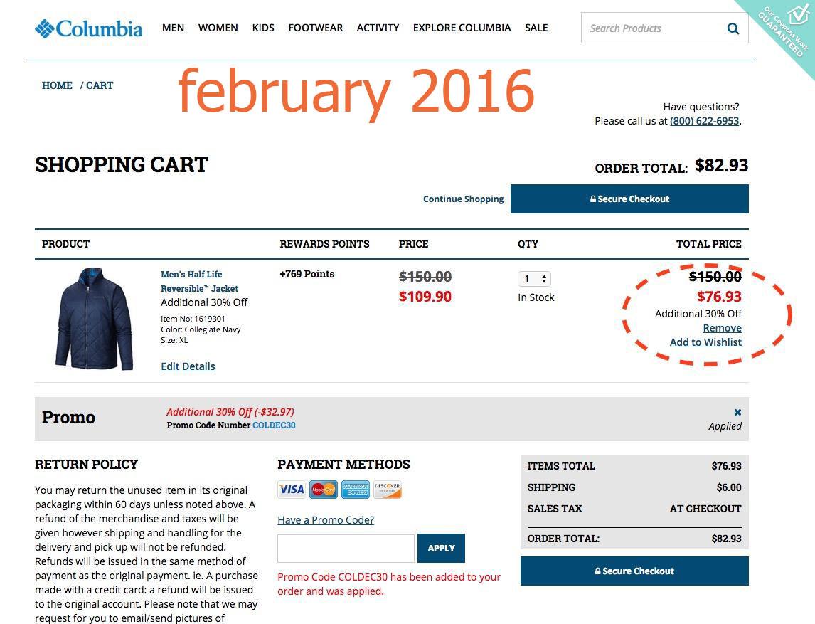 Columbia Coupon Code Printable Coupons Db 2016