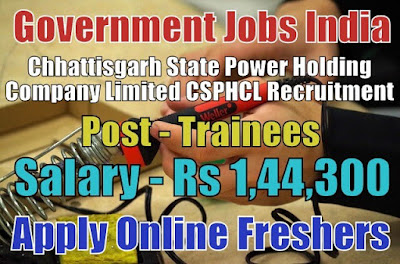CSPHCL Recruitment 2018