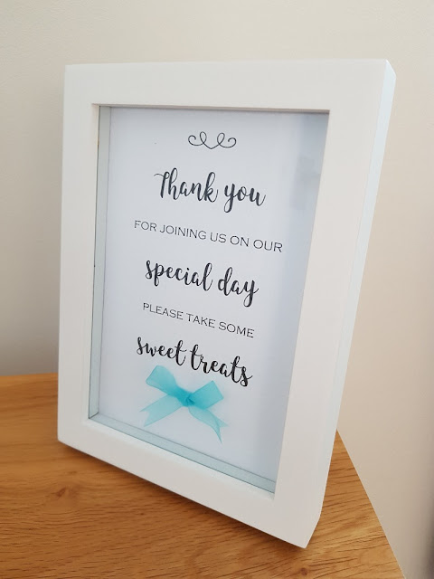 Wedding Sweet Table Sign