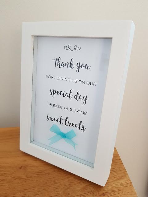 Wedding Sweet Table Sign