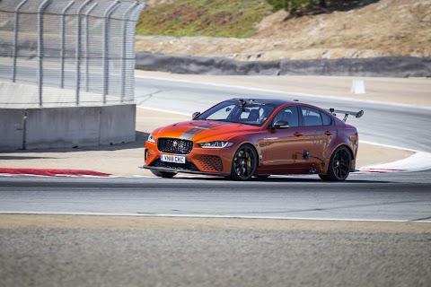 Jaguar Sets New Speed Record